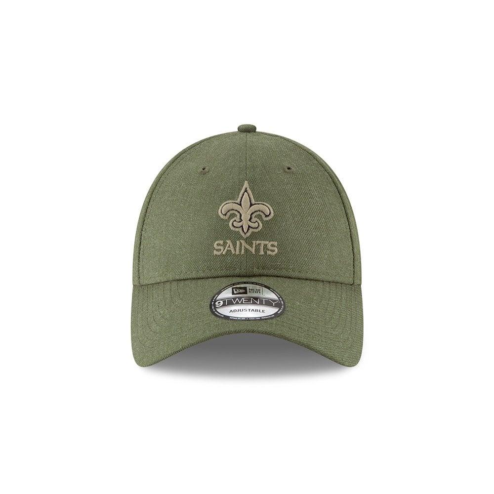 NFL New Orleans Saints 2018 Salute to Service Sideline 9Twenty Adjustable  Cap 9141b199b