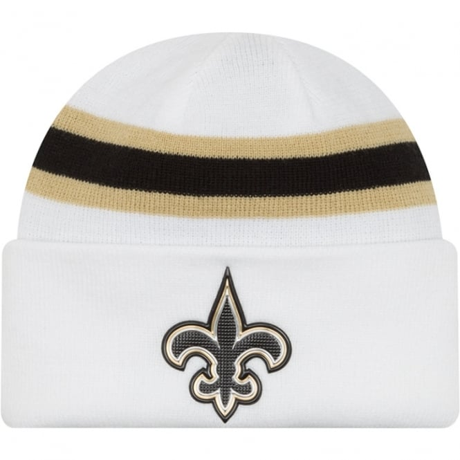New Era NFL New Orleans Saints Colour Rush On Field Cuffed Knit