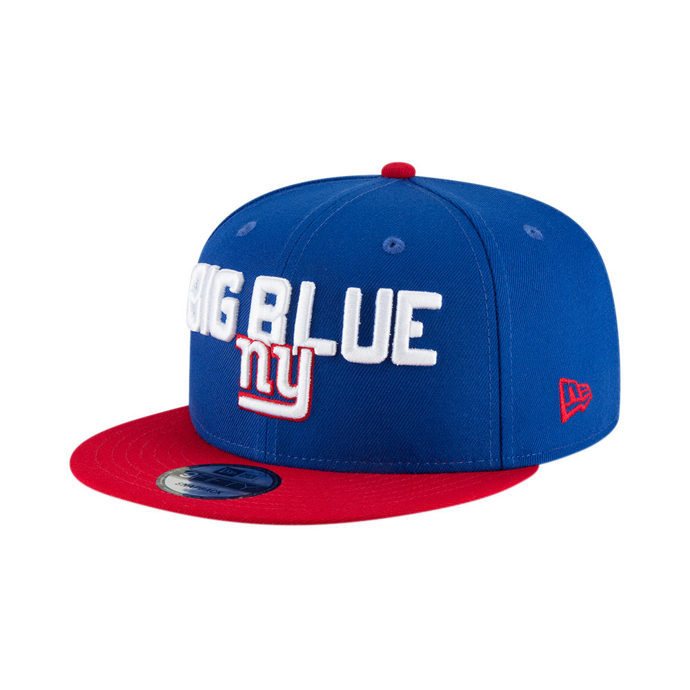ae0e18bcd936e New Era NFL New York Giants 2018 Draft Spotlight 9Fifty Snapback Cap ...