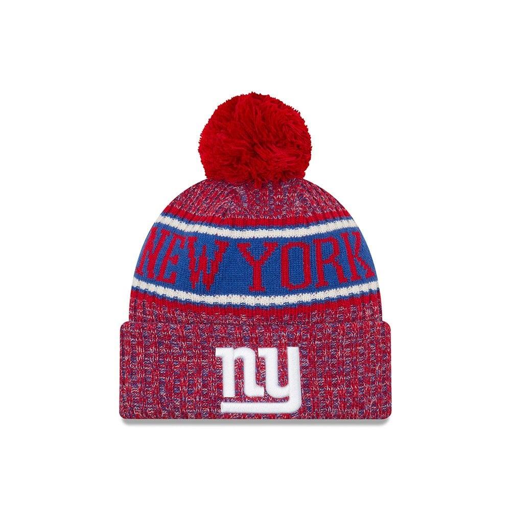 New Era NFL New York Giants 2018 Sideline Reverse Sport Knit - Teams ... ecfabb138e9