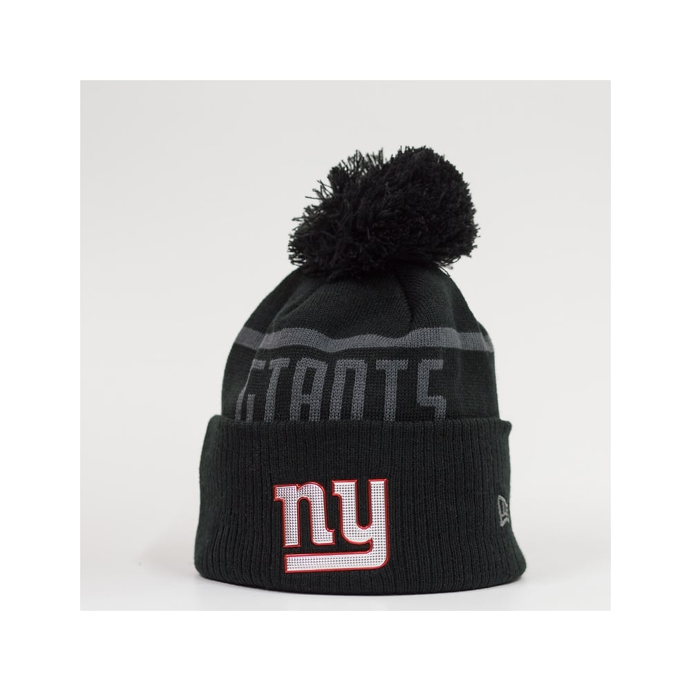 save off 24927 81d5c NFL New York Giants BC Cuffed Pom Knit