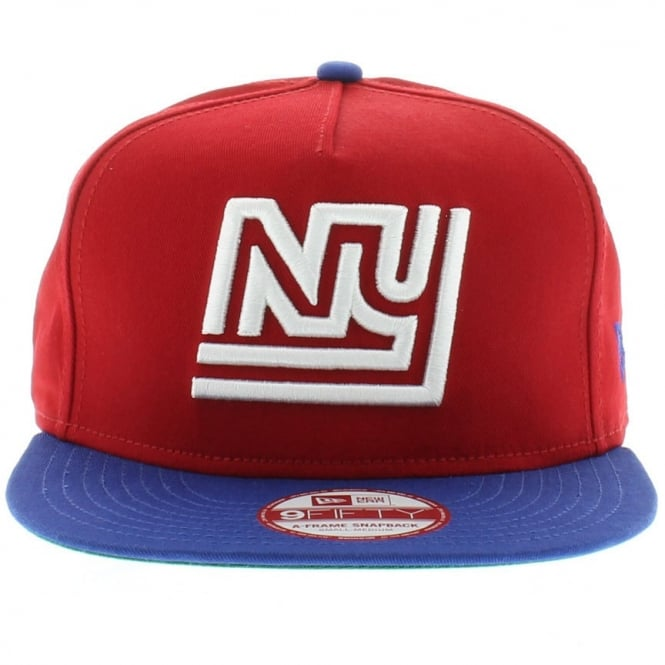 New Era NFL New York Giants Team Flip 9Fifty Snapback Cap