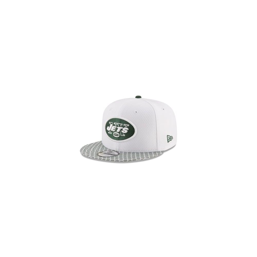c83abcaeec4 New Era NFL New York Jets 2017 Sideline 9Fifty Snapback Cap ...