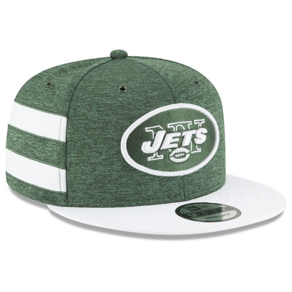4240790c080 New Era NFL New York Jets 2018 Sideline 9Fifty Snapback - Headwear ...