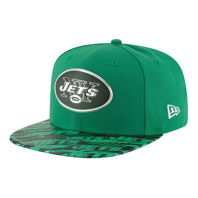 New Era NFL New York Jets 9Fifty Colour Rush On Field Original Fit Snapback Cap