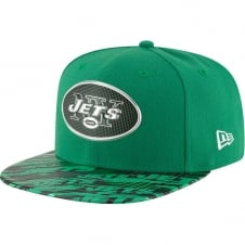 NFL New York Jets 9Fifty Colour Rush On Field Original Fit Snapback Cap