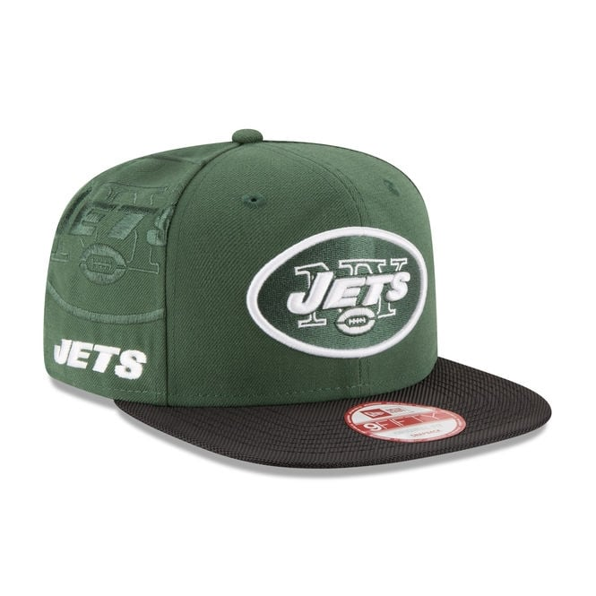 New Era NFL New York Jets 9Fifty Sideline Snapback Cap