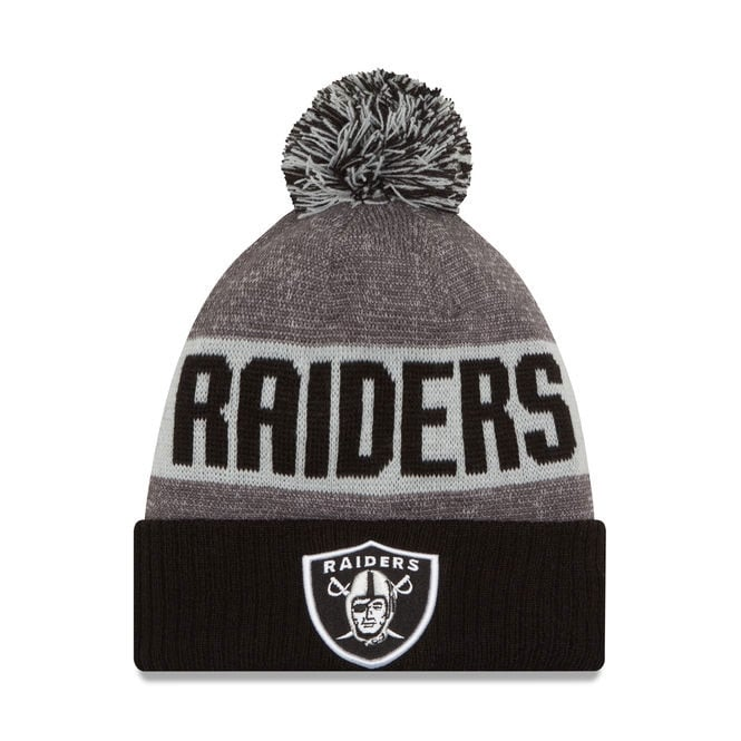 New Era NFL Oakland Raiders 2016 Sideline Official Sport Knit