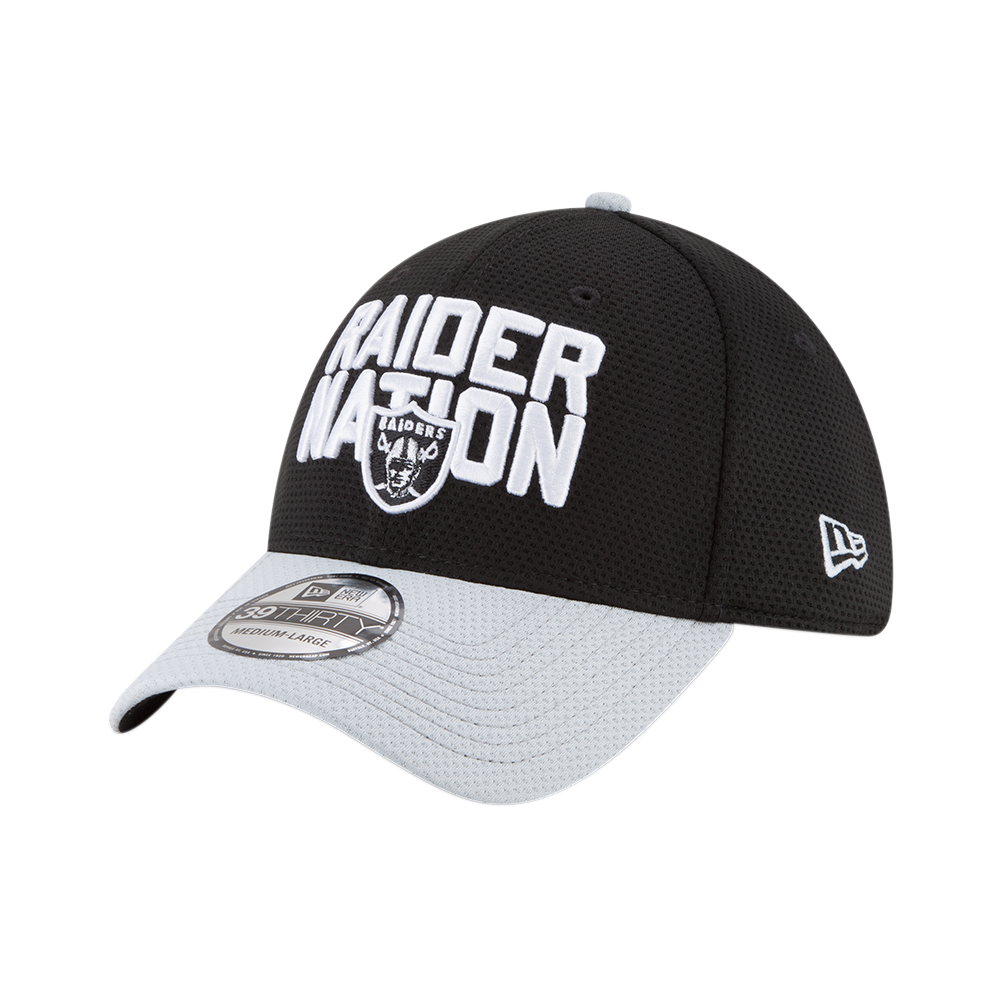 New Era NFL Oakland Raiders 2018 Draft Spotlight 39Thirty Cap ... 48555ab0555