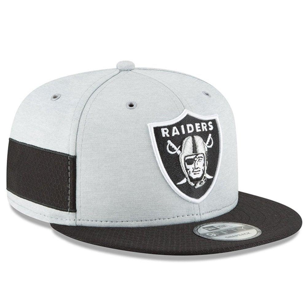 02040b0ed25f5 New Era NFL Oakland Raiders 2018 Sideline 9Fifty Snapback - Headwear ...