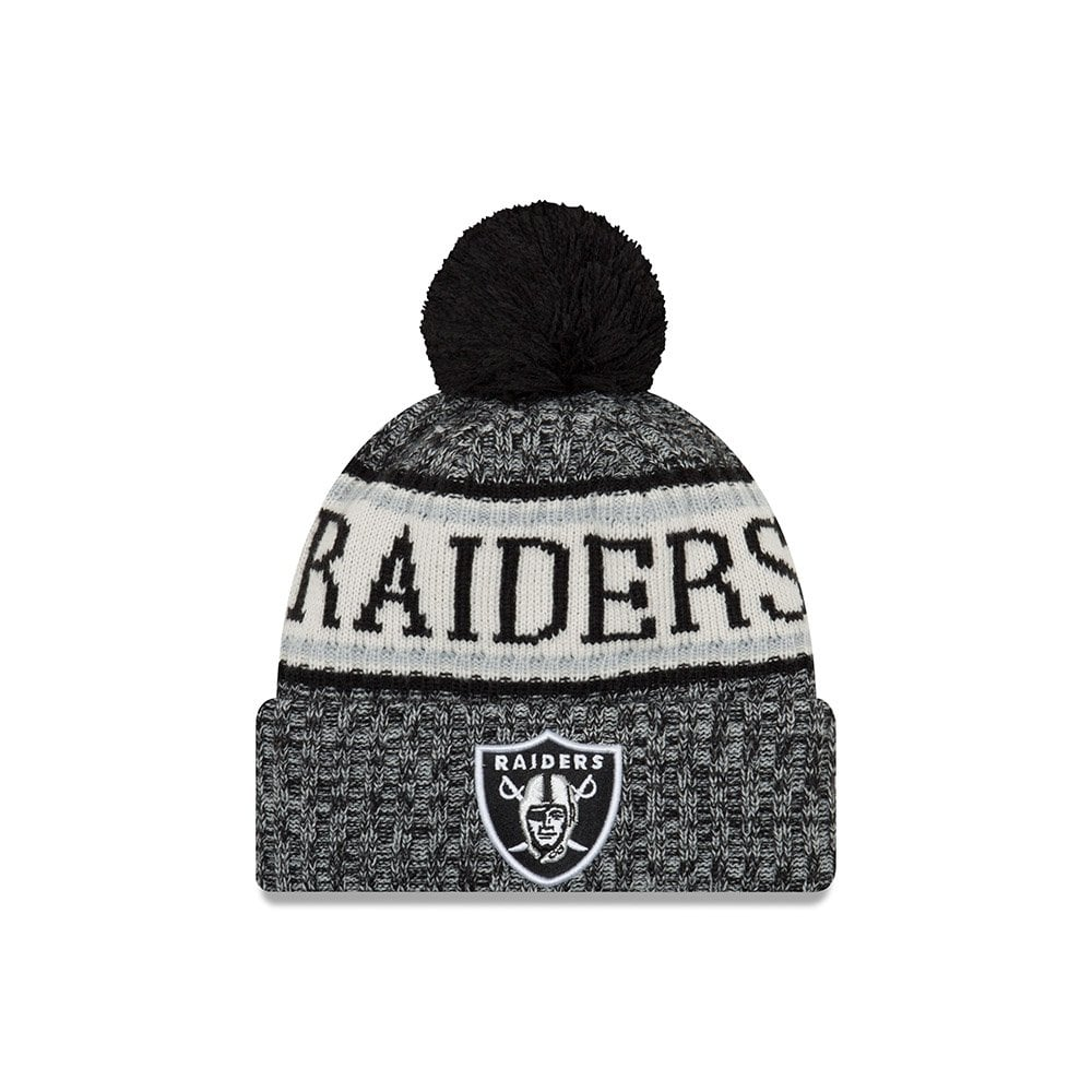 more photos 1ac67 92858 NFL Oakland Raiders 2018 Sideline Sport Knit