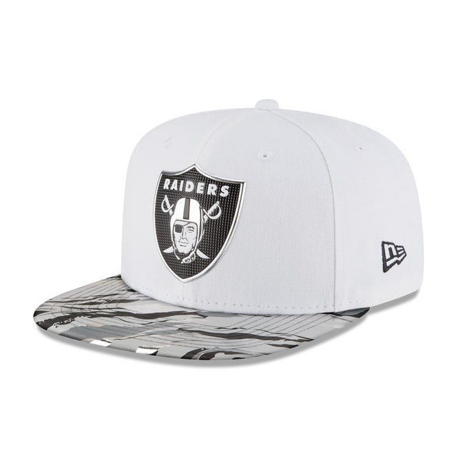 New Era NFL Oakland Raiders 9Fifty Colour Rush On Field Original Fit Snapback Cap