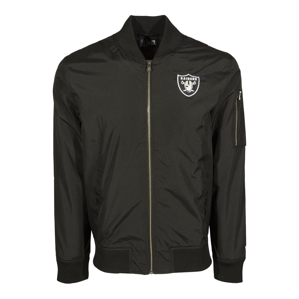 new arrival c8dab 99caf NFL Oakland Raiders Bomber Jacket