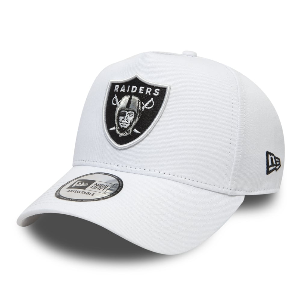 91e3a9c2ad6 New Era NFL Oakland Raiders Essential A Frame Adjustable Trucker Cap ...