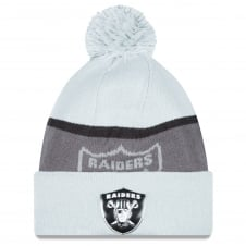 NFL Oakland Raiders Gold Collection Pom Knit