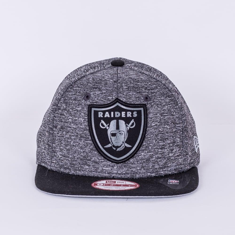 f7d6d369e8f New Era NFL Oakland Raiders Grey Collection 9Fifty Snapback Cap ...