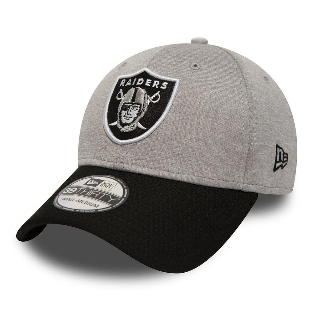 35639e7e40dd4b New Era NFL Oakland Raiders Jersey Hex 39Thirty Stretch Fit Cap ...