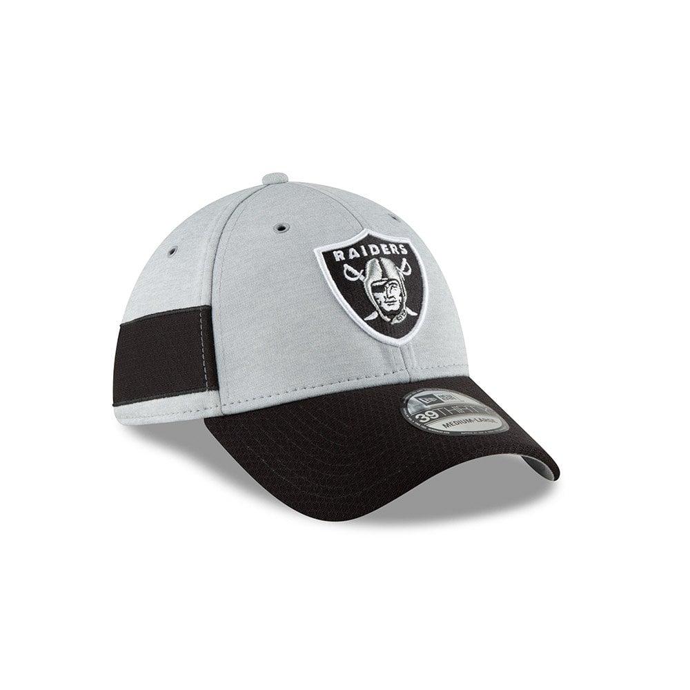 New Era NFL Oakland Raiders Sideline 2018 39Thirty Cap - Teams from ... 545e10dd4