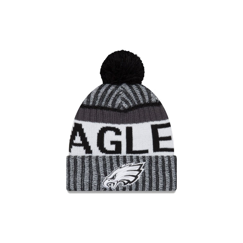 ... reduced new era nfl washington redskins beanie hat nfl philadelphia  eagles 2017 black white sideline sport 10343aaf8