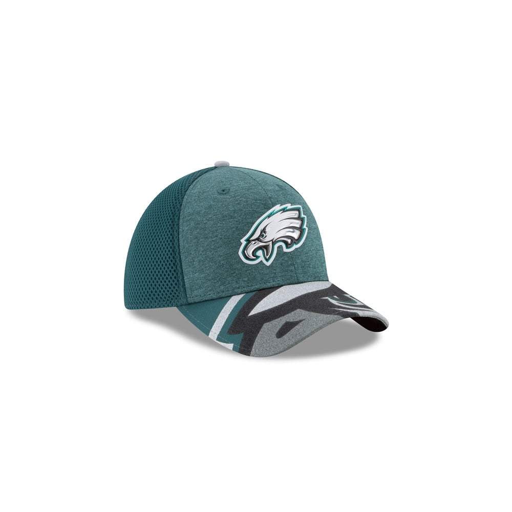 fd2699db4 New Era NFL Philadelphia Eagles 2017 NFL Draft 39Thirty Cap - Teams ...
