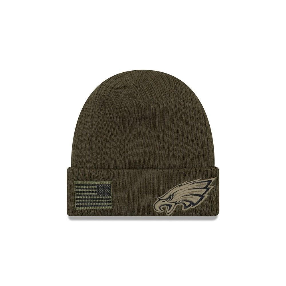 New Era NFL Philadelphia Eagles 2018 Salute to Service Sideline Knit ... 93df28c76