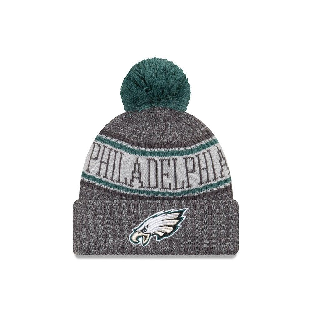 New Era NFL Philadelphia Eagles 2018 Sideline Graphite Sport Knit ... 1e5360f6f44
