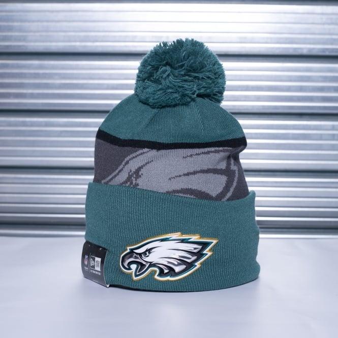 45261a32a New Era NFL Philadelphia Eagles Gold Collection Pom Knit