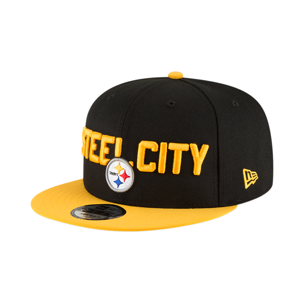 eacc23e082312 New Era NFL Pittsburgh Steelers 2018 Draft Spotlight 9Fifty Snapback ...