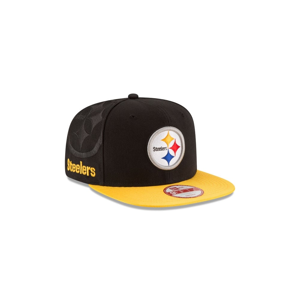 New Era NFL Pittsburgh Steelers 9Fifty Sideline Snapback Cap - Teams ... 2364c8d8d