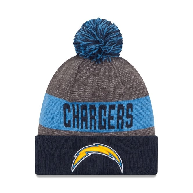 New Era NFL San Diego Chargers 2016 Sideline Official Sport Knit