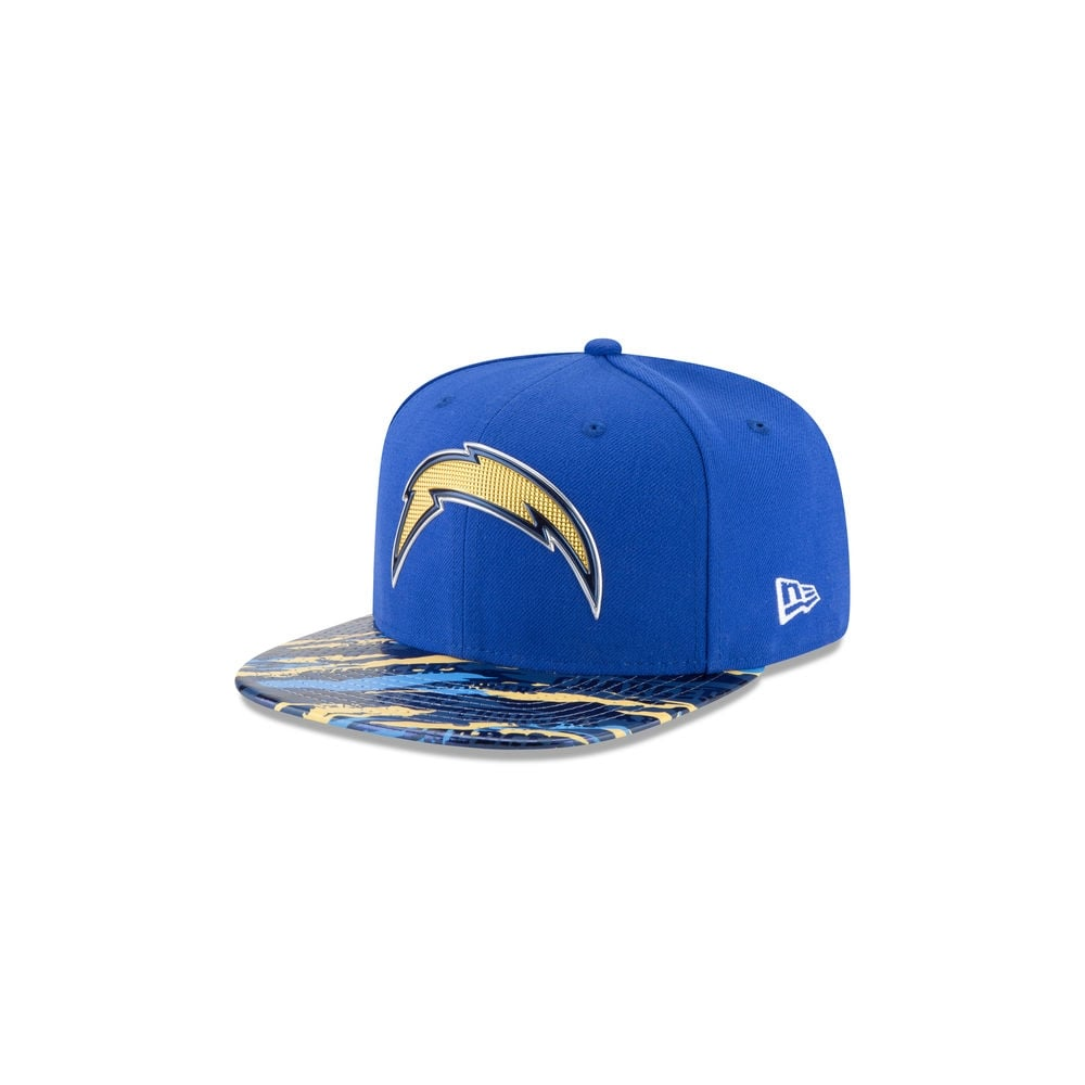 91d94c6c20641 NFL San Diego Chargers 9Fifty Colour Rush On Field Original Fit Snapback Cap