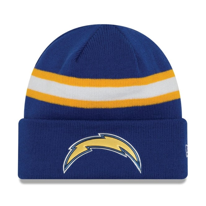 New Era NFL San Diego Chargers Colour Rush On Field Cuffed Knit