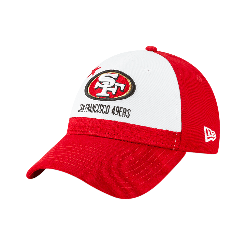 differently b9cc0 40941 NFL San Francisco 49ers 2019 Draft 9Forty Adjustable Cap