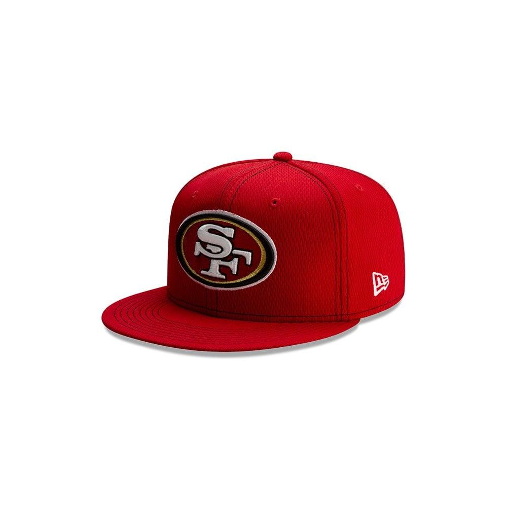 c659e974 New Era NFL San Francisco 49ers 2019 Sideline Road 9Fifty Snapback