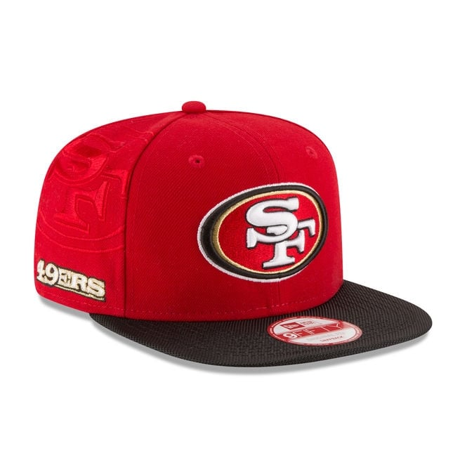 New Era NFL San Francisco 49ers 9Fifty Sideline Snapback Cap