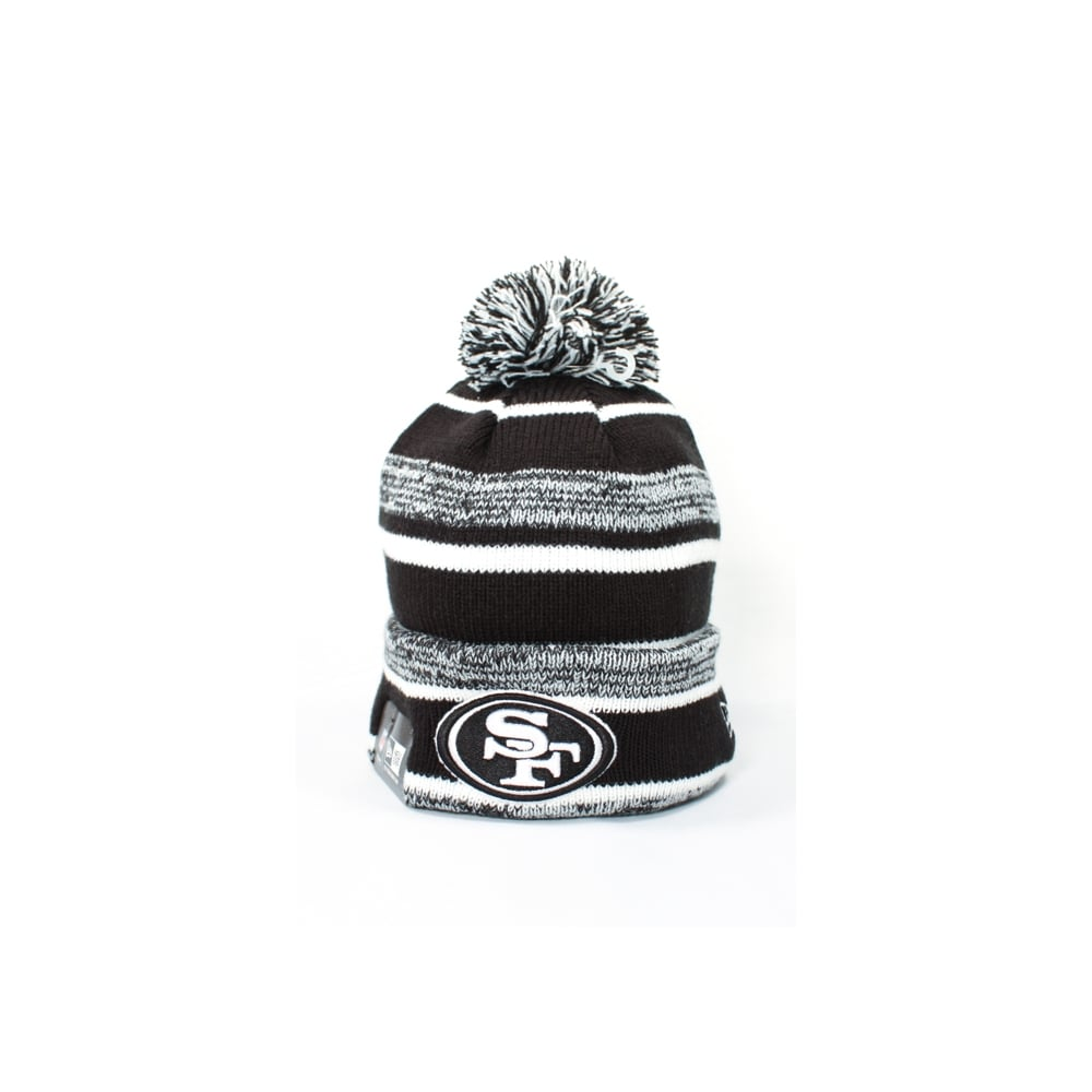 super popular 17f04 8fee8 NFL San Francisco 49ers Black White Official Sport Knit