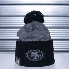 NFL San Francisco 49ers Grey Collection Pom Knit