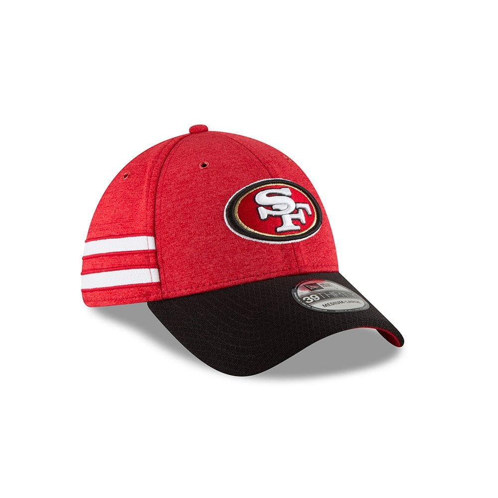 differently 2900b a137b NFL San Francisco 49ers Sideline 2018 39Thirty Cap