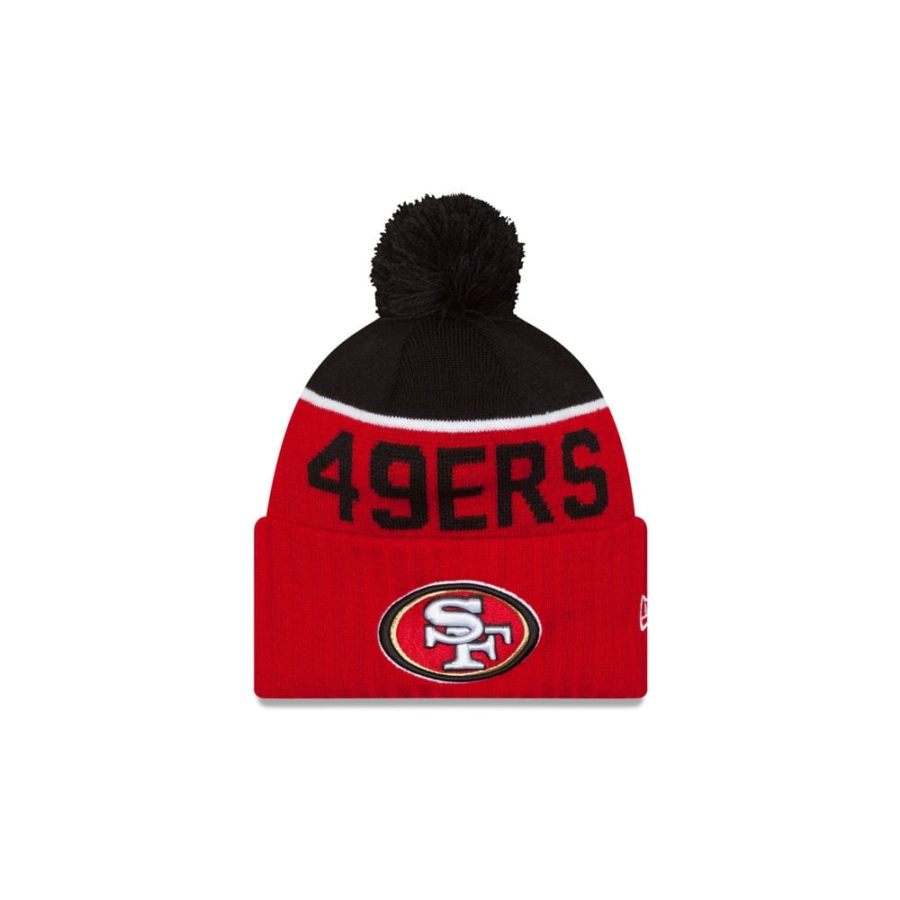 a63dfc158 New Era NFL San Francisco 49ers Youth 2015 Sideline Official Sport ...