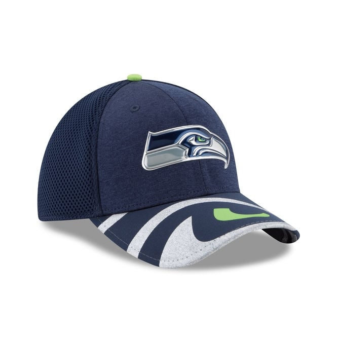 detailed look 0d1f2 6b70c ... release date nfl seattle seahawks 2017 nfl draft 39thirty cap 408ed  00825