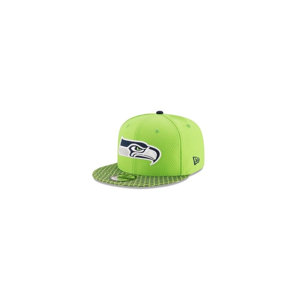 4c2a11bc464 New Era NFL Seattle Seahawks 2017 Sideline 9Fifty Snapback Cap ...