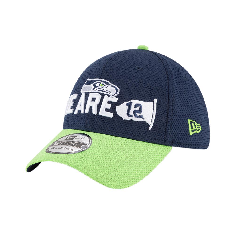 5e6ba09b69f928 New Era NFL Seattle Seahawks 2018 Draft Spotlight 39Thirty Cap ...