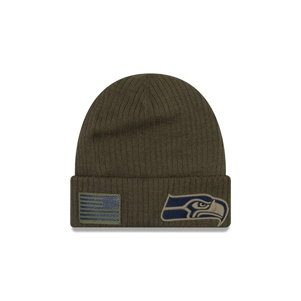 4fee1fa2 New Era NFL Seattle Seahawks 2018 Salute to Service Sideline Knit