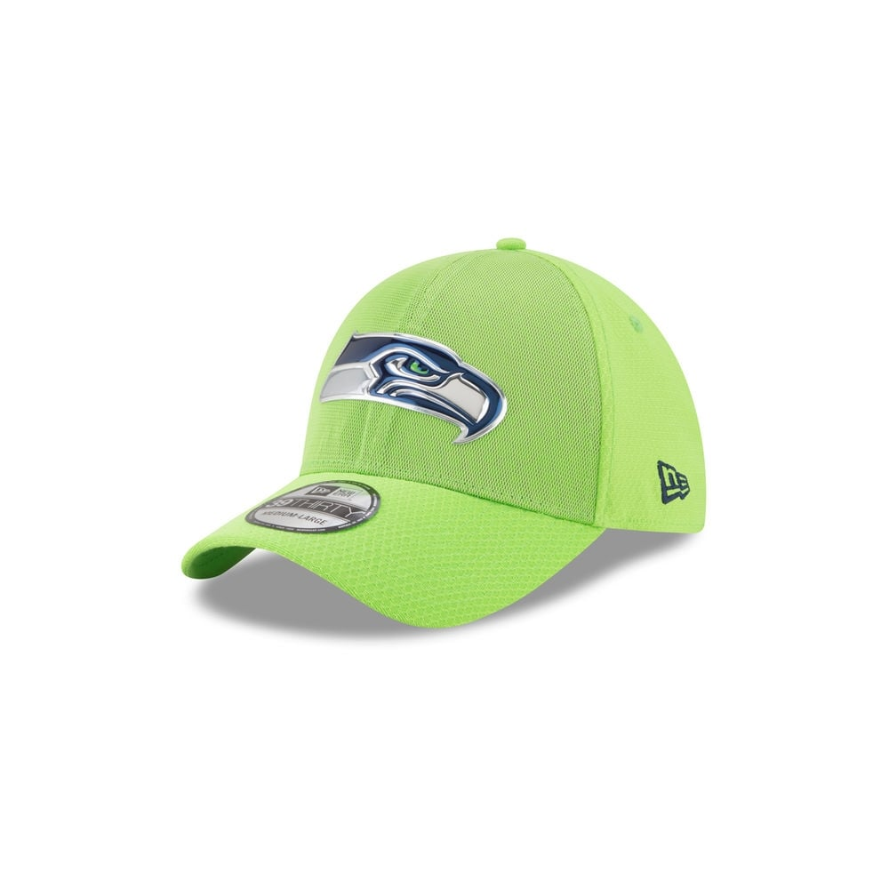 check out bb224 f415c NFL Seattle Seahawks 39Thirty 2017 Color Rush Cap