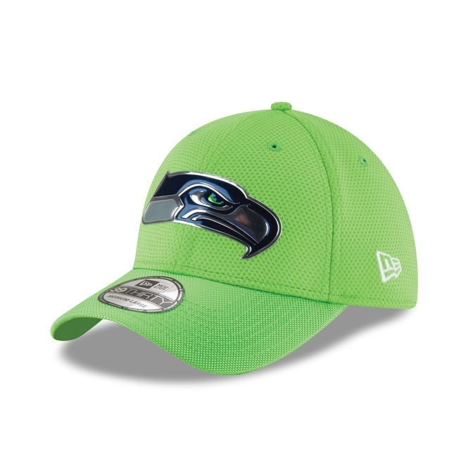 New Era NFL Seattle Seahawks 39Thirty Colour Rush On Field Cap