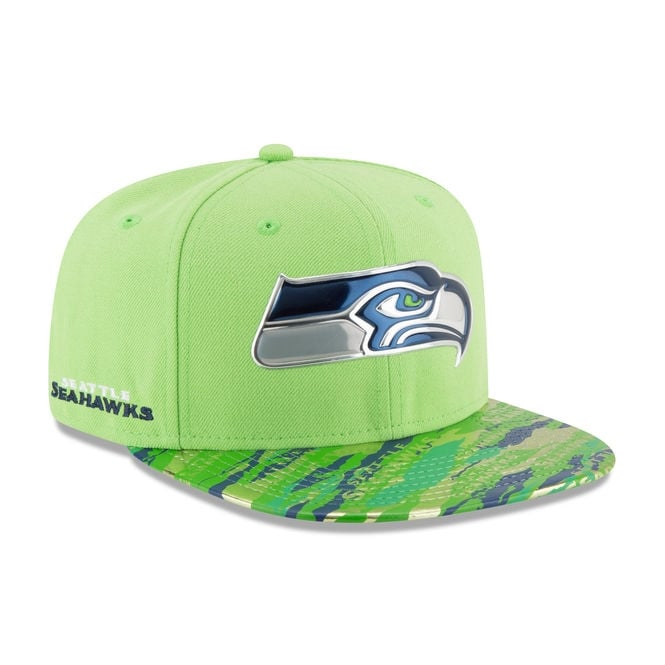 6a480ad812e ... switzerland nfl seattle seahawks 9fifty colour rush on field original  fit snapback cap 3e7af 01705