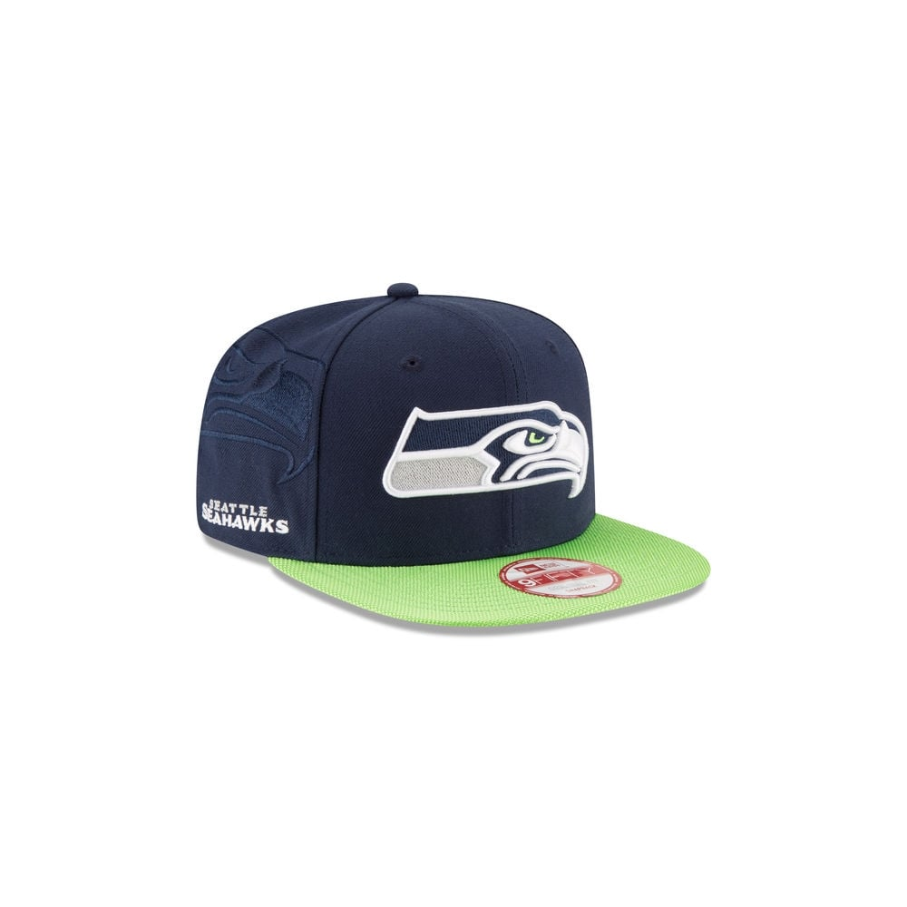 pretty nice 14d0a 84953 NFL Seattle Seahawks 9Fifty Sideline Snapback Cap