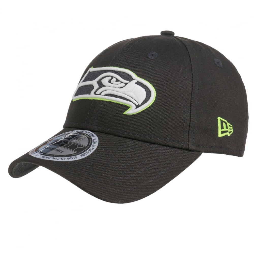01bd0a86c4249 New Era NFL Seattle Seahawks GITD 9Forty Adjustable Cap - Teams from ...