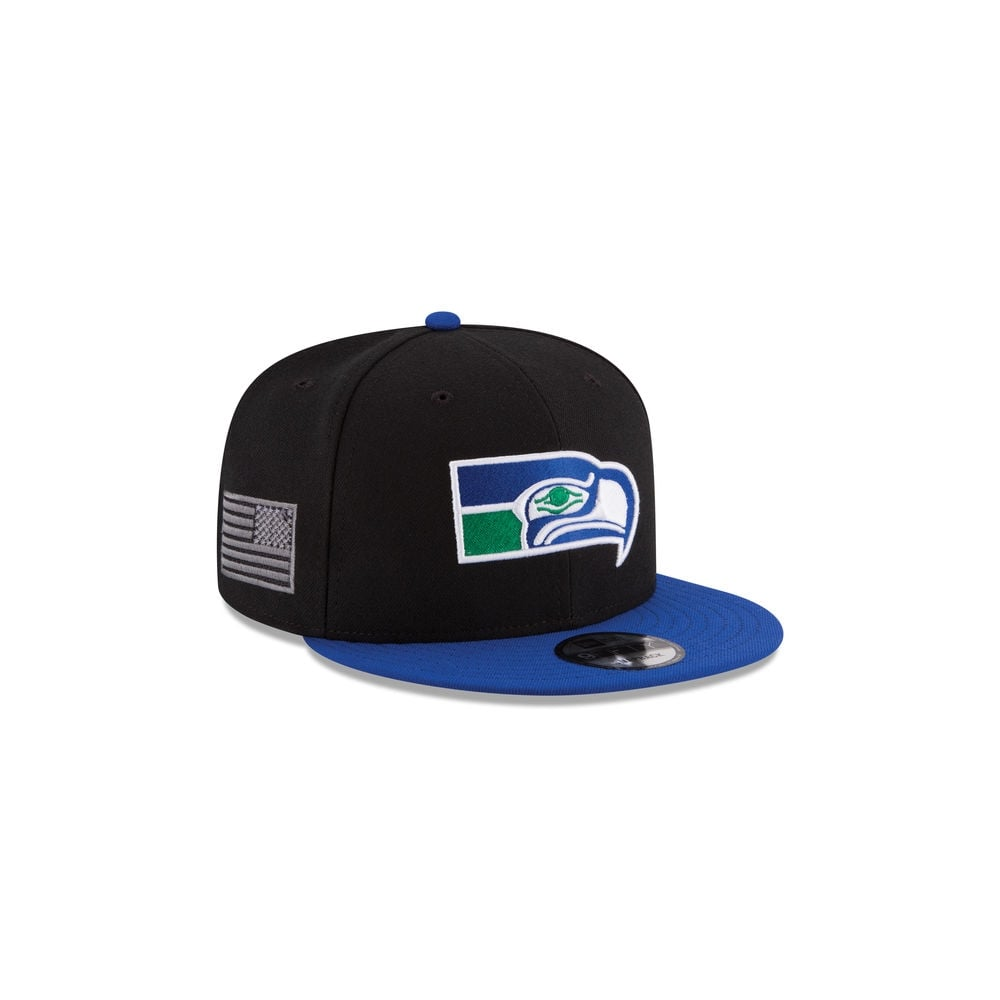 f9aabcd0520 New Era NFL Seattle Seahawks Made in America 9Fifty Snapback Cap ...