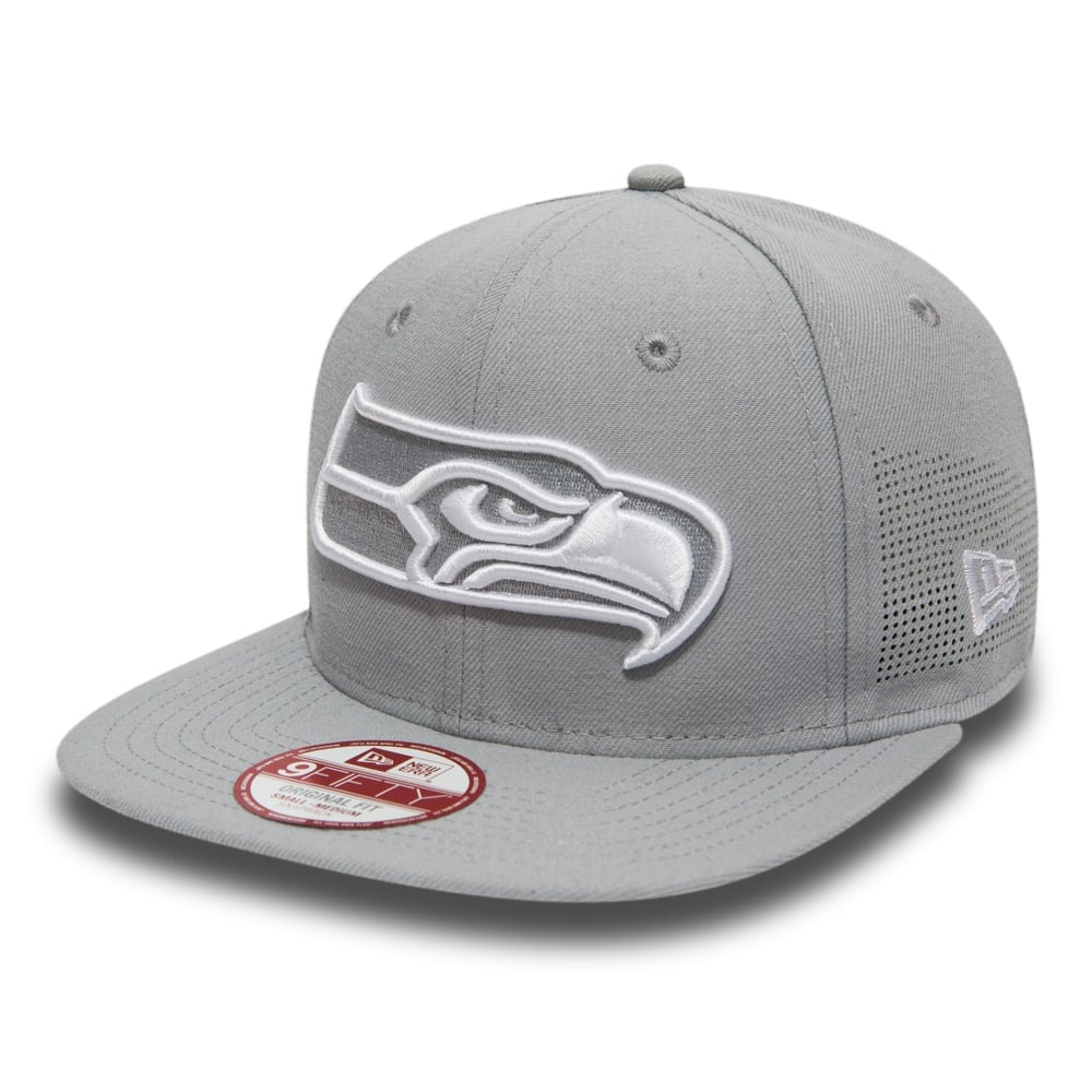 huge selection of a9a16 44c40 NFL Seattle Seahawks Side Performance 9Fifty Snapback Cap